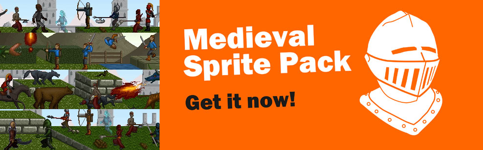 Medieval Sprite Pack - Get the pack now for your game