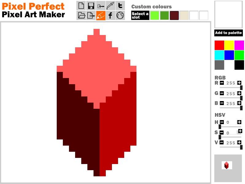 Pixel Perfect Free Pixel Art Maker