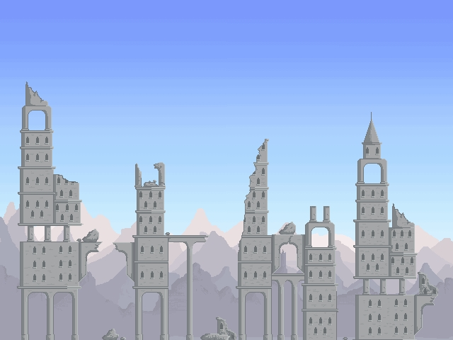 Ruined City Background