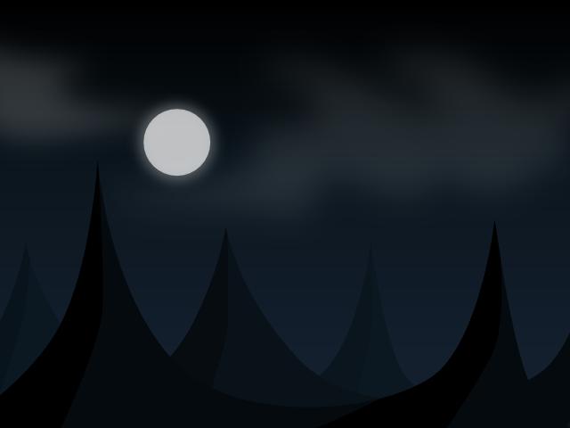 dark mountain vector background
